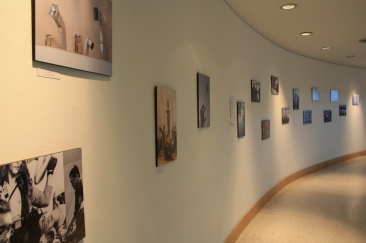 Exhibit of street photographers' works
