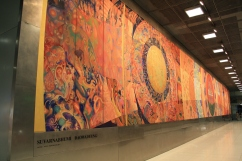 Painting at Suvarnabhumi airport