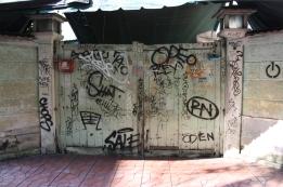 Graffiti at Khao San Road