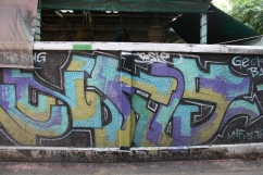 Another great graffiti at Khao San Road