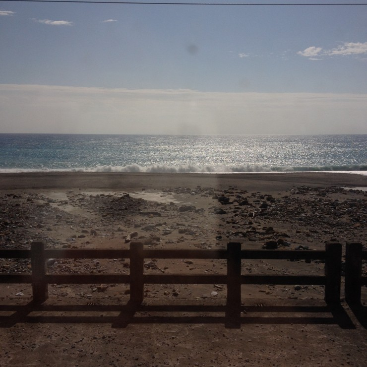 Hours on the train doesn't seem that long when you see this beautiful scenery