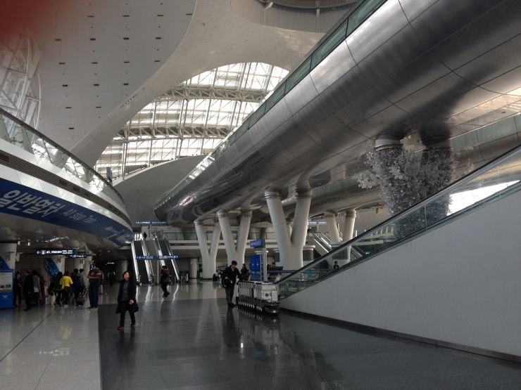 Incheon International Airport is massive!