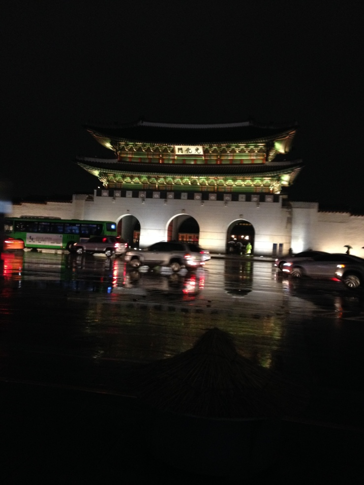 ..until we reached this, the very beautiful Gyeongbokgung Palace!