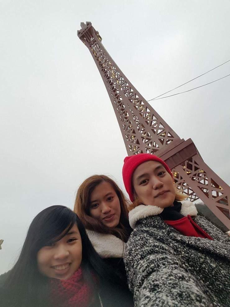 Bonus: Eiffel Tower replica! Hehe